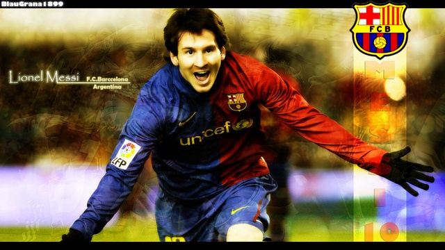 photo of messi  http://barcelonafcwallpapers.com