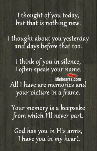 10 In Memory Quotes and Sayings