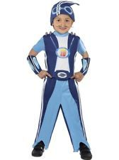 Child Age 4-6 Years Sportacus Fancy Dress Lazy Town Fun Costume (Small) Boys