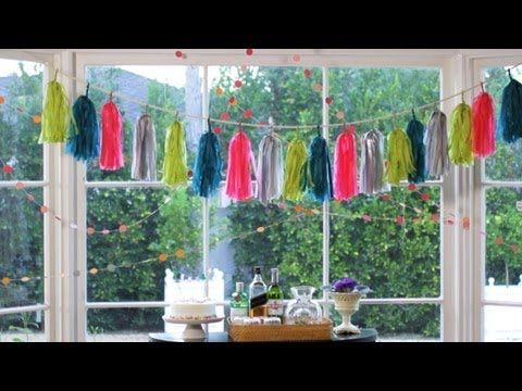 How to Make Paper Garlands || KIN DIY