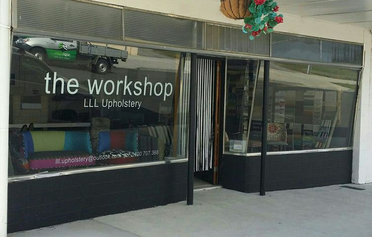 Our little workshop in Toora