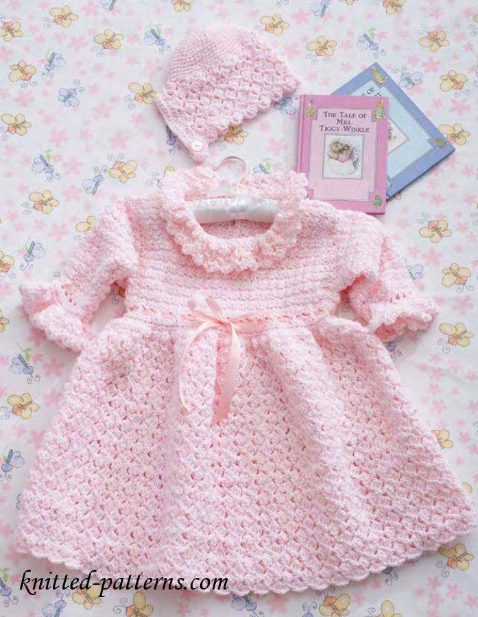 Crochet Christening Set Free Pattern