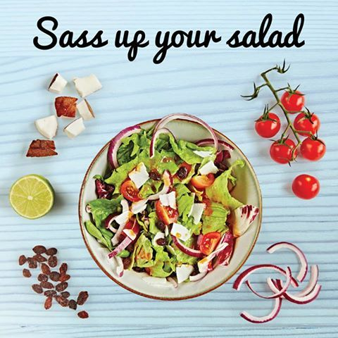 #Sass up your #Salad with Forever Living! Contact me for more information on health supplements : kirstygauder@hotmail.com  #health #nutrition #fitness #summer #food