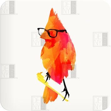 DENY Designs Robert Farkas Punk Bird Wall Art