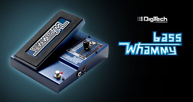 Gearjunkies.com: Introducing the Digitech Bass Whammy Bass Pedal