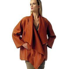 Patron couture vogue -veste - donna karan collection - v1346 y (xs-s-m)