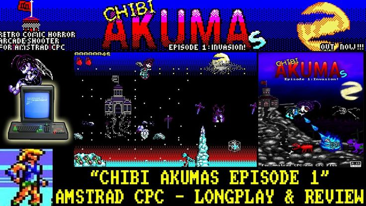 Xyphoe's Longplay & Review of Chibi Akumas - Episode 1! #chibiakumas #chibi #akuma #retrogames #retrogaming #gothic #amstradcpc #8bit #チビ #ちび #悪魔