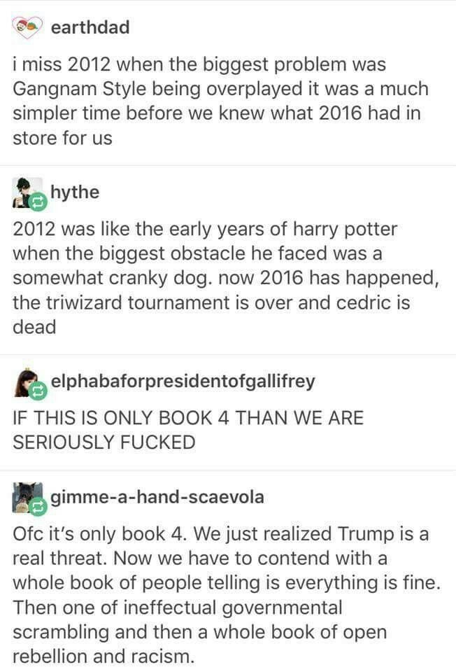 Whoah now i am even more scared of the future. But it also kind of guves me hope... At least Voldemort was defeated...