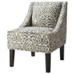 Hudson Upholstered Accent Chair - Gray/Yellow @ target