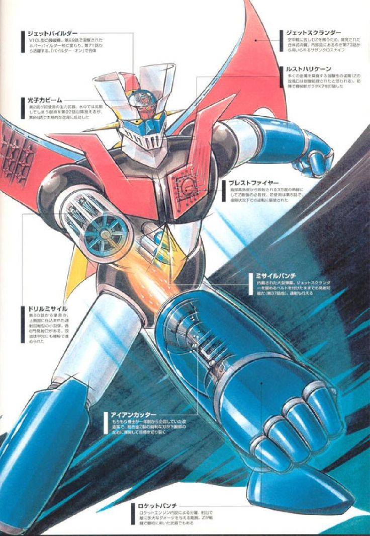 #ClippedOnIssuu from Super robot encyclopedia