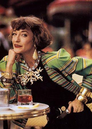 Loulou de la Falaise what style!!! | Get your style fix at www.berenshoes.com