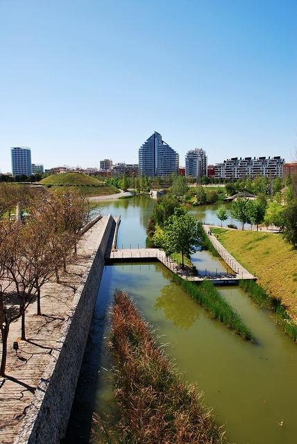 Park of the city of Valencia.