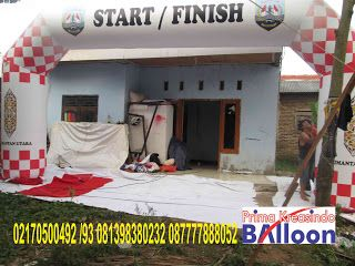 PRIMA KREASINDO BALLOON: Balon gate start murah