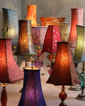 127 best susan caryn kinzig design studios images on pinterest kinzig lamps hand blown glass lamps with embroidered silk shades artistic artisan designer lamps mozeypictures Gallery
