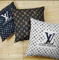 3pc Louis Vuitton Throw Pillow Set