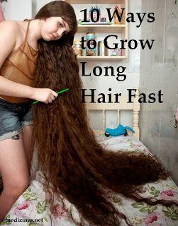 Natural Ways To Make Hair Grow Quicker