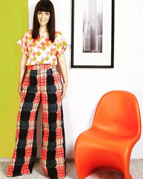 Andreea Tincu in Marni style #andreatincu #fashiondesigner #style #lovejob #marni #elle #style #colorful #beautifulday #fashion