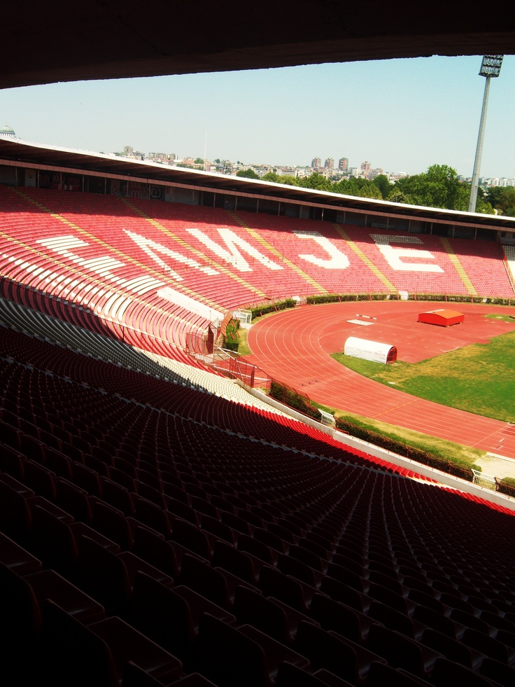 Marakana, Red Star Belgrade, Serbia <3