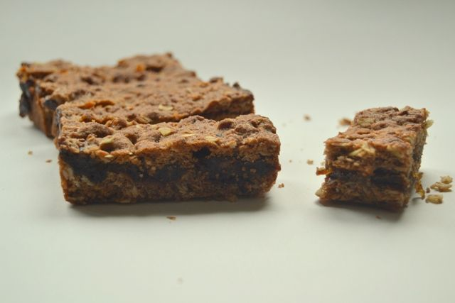 Whole- grain date bars #sugarfree #vegan #wheatfree