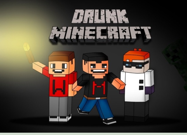 DRUNK MINECRAFT!  BEST VIDEO SERIES EVER! Markiplier, LordMinion777, and Muyskerm