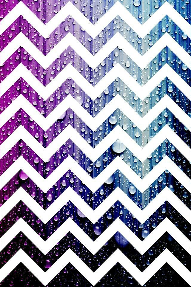 Galaxy chevron wallpaper