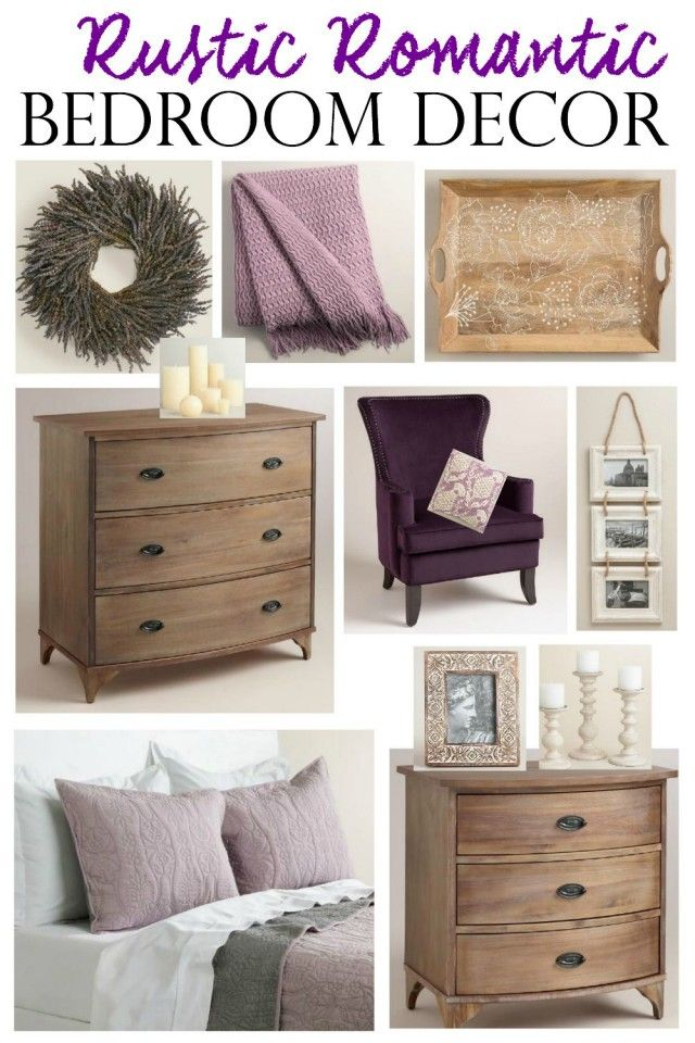 Rustic Romantic Bedroom Decor - KENDALL RAYBURN