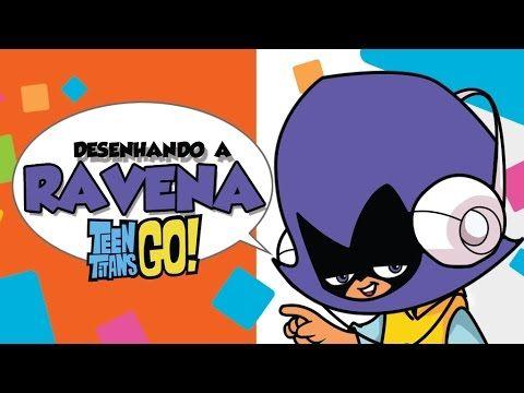 Como desenhar Ravena New Titans - How to draw Raven New Titans