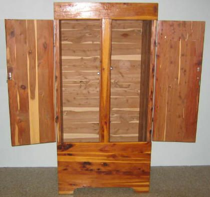 free armoire wardrobe closet plans how to build a. Black Bedroom Furniture Sets. Home Design Ideas