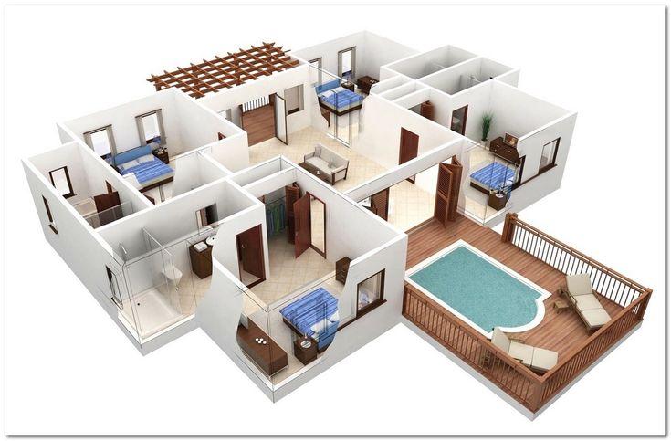 3d Floor Plans Best Of 3d Home Floor Plan1 Bedroom 1 Bath Princeton Estates By Pndrgn On Deviantart C Ins Design Your Own Home Pool House Plans Software Design