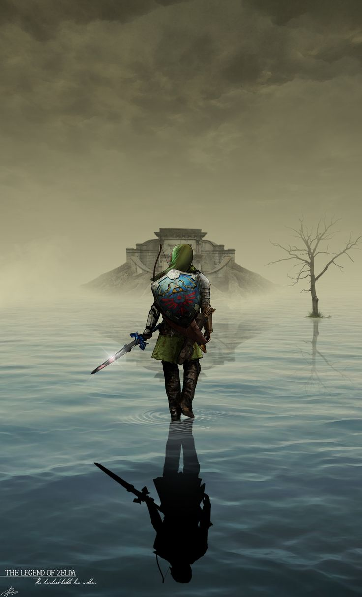 The Legend of Zelda: The hardest battle lies within (ORIGINAL). Cesarek13 on reddit, www.reddit.com/user/Cesarek13
