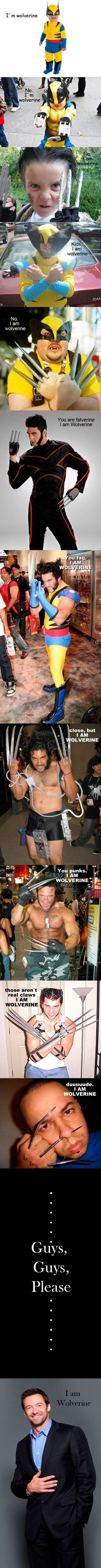 I Am Wolverine - The Wolverine Meme