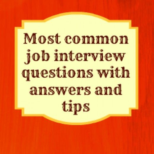 common job interview questions and how to answer them - Best Answer For Skills On Resume