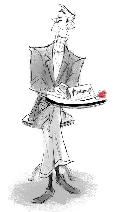 Montgomery ✤ || CHARACTER DESIGN REFERENCES | キャラクターデザイン | çizgi film • Find more at https://www.facebook.com/CharacterDesignReferences & http://www.pinterest.com/characterdesigh if you're looking for: bande dessinée, dessin animé #animation #banda #desenhada #toons #manga #BD #historieta #sketch #how #to #draw #strip #fumetto #settei #fumetti #manhwa #cartoni #animati #comics #cartoon || ✤