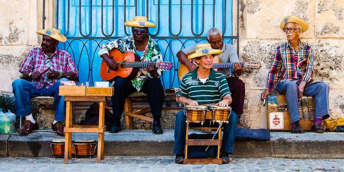 Musik wird in Kuba ganz groß geschrieben, egal ob im Club oder auf der Straße!