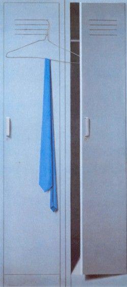 """""""Locker con corbatas"""" (1978), by Santiago Cárdenas."""