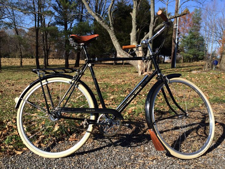 1961 Raleigh Sport Restored With New Brooks B67 Saddle