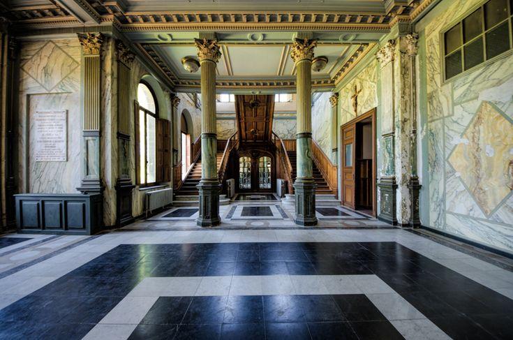 Chateau JM Abandoned, Belgium, June 2014