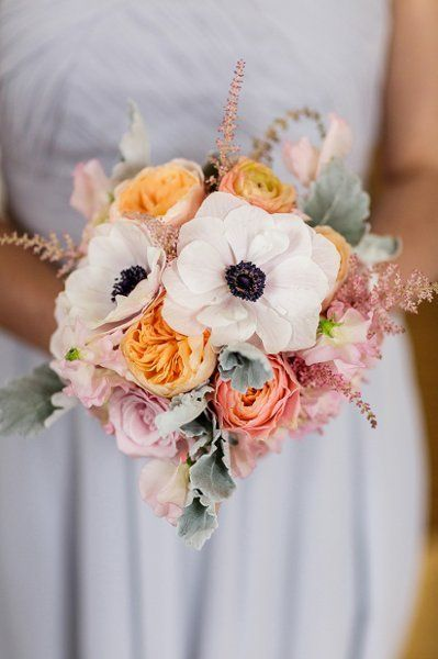 Bridesmaid Bouquets, Wedding Flowers Photos by Renaissance Floral Design  pretty and natural