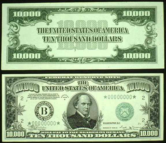 u.s. currency | ... Poker Forums - The new One Million Dollar bill added to US currency