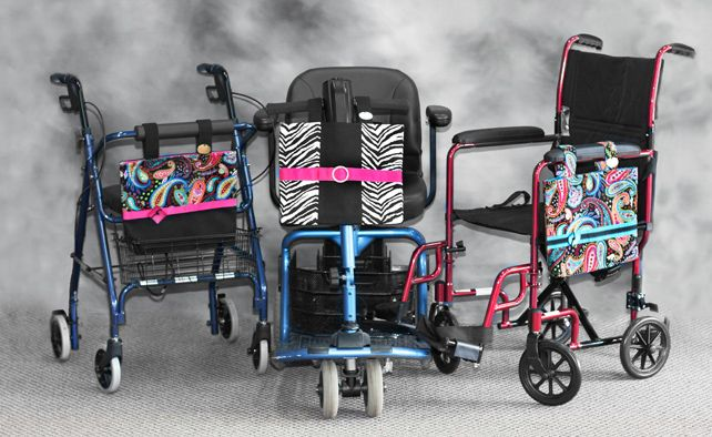 Walker Bags: Power Chair & Walker Accessories, Carryall Bags for Mobility Devices, Walker Bag