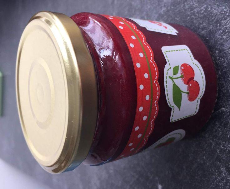 Rezept Kirschmarmelade mit Zimt von sandra-und-mario-rubi - Rezept der Kategorie Beilagen
