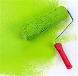 Lime green paint - I like this for the boys IKEA table when we re-paint it.