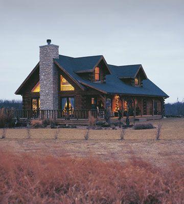 Kitchen Design Ideas | Log Cabin Christmas Kitchen — Country Woman Magazine