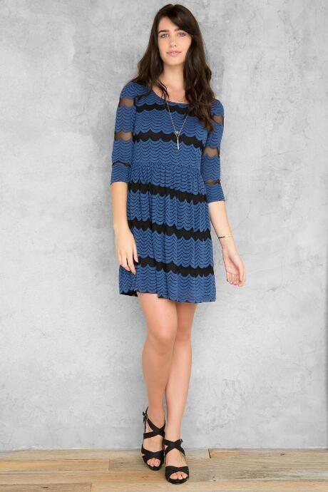 Bonney Embroidered Dress $48.00