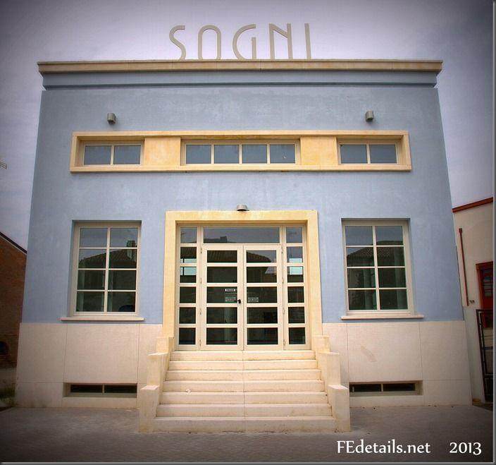 Tresigallo: città del '900, Ferrara - Tresigallo: city of '900, Ferrara, Italy, Photo3
