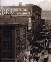 Peirce College in Philadelphia in the early 1900s