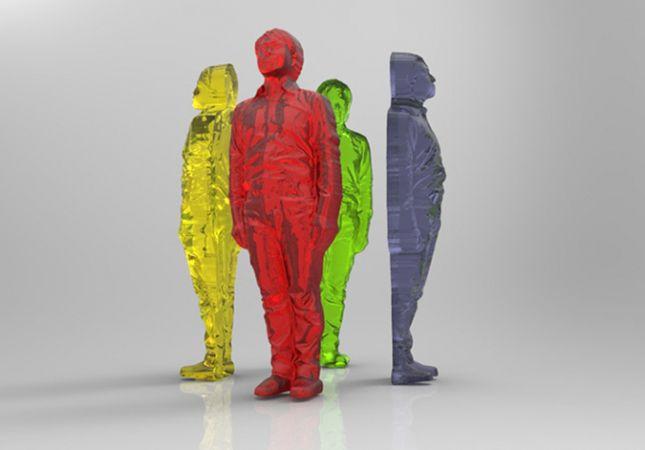 Gummy People   10 3D-Printed Foods