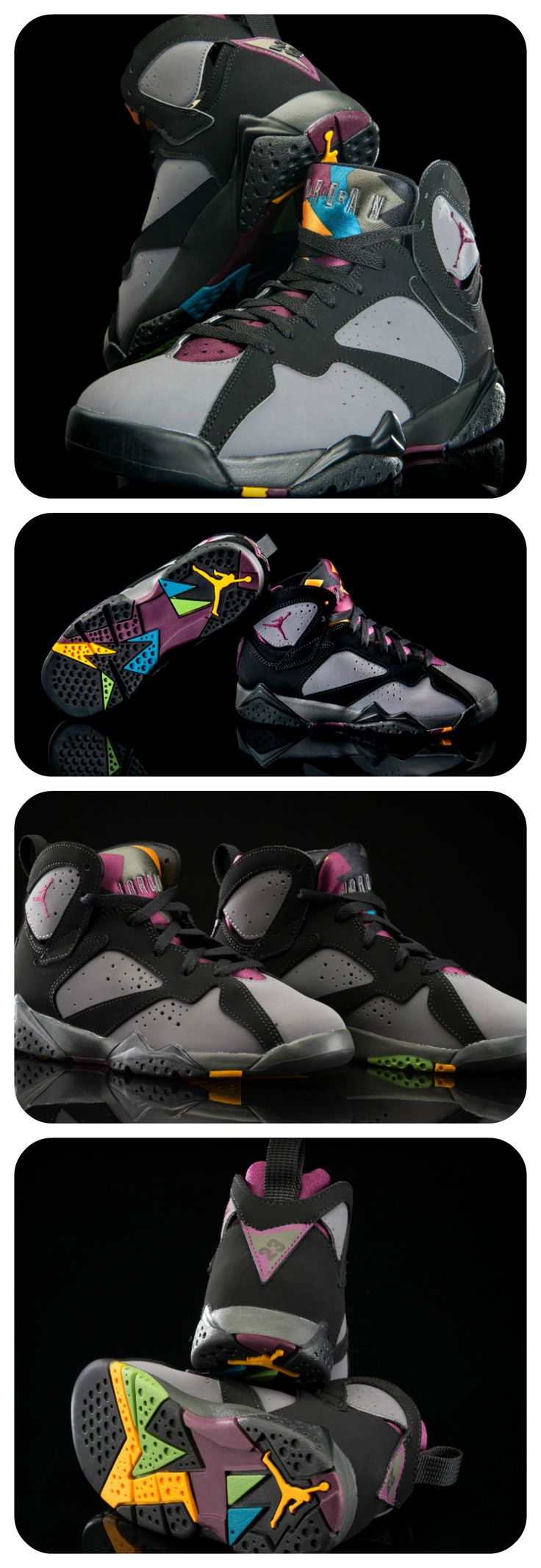 The Jordan Retro 7 'Bordeaux' just dropped in sizes for the whole family.