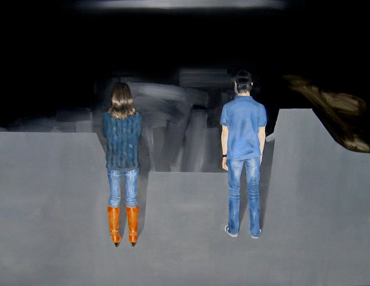 LEE SONG - between, Oil On Canvas , 90.9× 116.7cm, 2009
