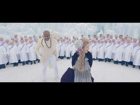 """Nigerian singer and actor Alex Boyé has teamed up with Utah's One Voice Children's Choir to create an amazing """"Africanized"""" version of """"Let It Go"""" from Disney's Frozen . I guarantee this video will put a smile on your face: 